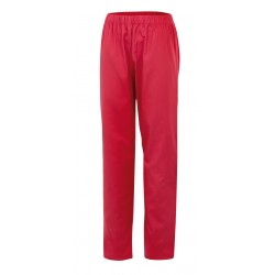 Pantalón trabajo interior color rojo